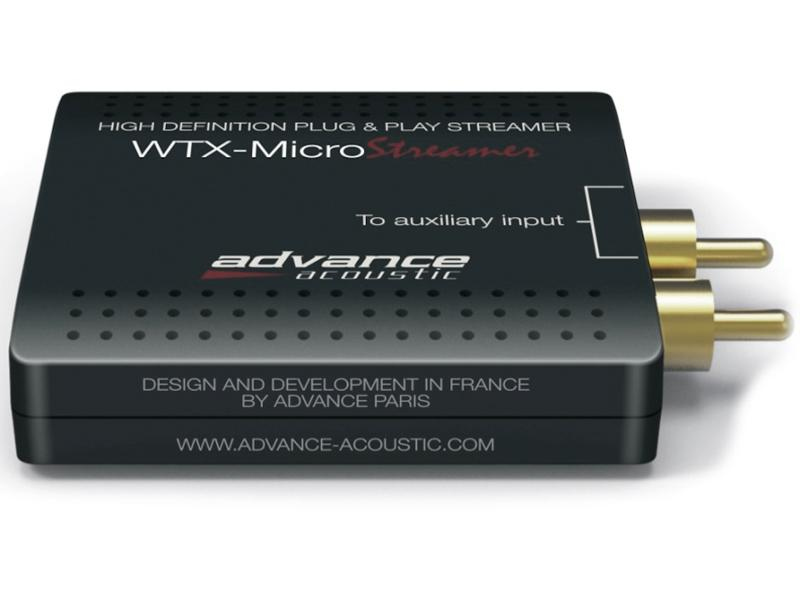 Сетевой стример Advance Acoustic WTX-Microstream